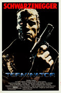 "Movie Posters:Science Fiction, The Terminator (Orion, 1984). Spanish One Sheet (27"" X 41"").. ..."