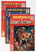 Golden Age (1938-1955):Science Fiction, Incredible Science Fiction #30-33 Group (EC, 1955-56) Condition:Average VG+.... (Total: 5 Comic Books)