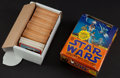 Non-Sport Cards:Sets, 1977 O-Pee-Chee Star Wars Series 3 Collection (280+51) Plus Box. ...