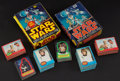 Non-Sport Cards:Sets, 1977 O-Pee-Chee Star Wars Series 1 and 2 Collection (343) PlusBoxes....