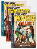 Golden Age (1938-1955):War, Two-Fisted Tales #36-38 and 41 Group (EC, 1954-55) Condition:Average FN.... (Total: 4 Comic Books)