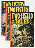 Golden Age (1938-1955):War, Two-Fisted Tales Group (EC, 1952-76) Condition: Average VG/FN....(Total: 6 Comic Books)