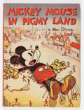 Platinum Age (1897-1937):Miscellaneous, Mickey Mouse In Pigmy Land #1 (Walt Disney Publications, 1936) Condition: FN/VF....