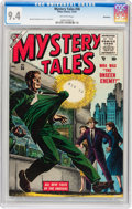 Golden Age (1938-1955):Horror, Mystery Tales #36 Bethlehem pedigree (Atlas, 1955) CGC NM 9.4Off-white pages....