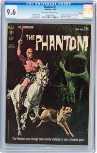 Phantom #1 Boston pedigree (Gold Key, 1962) CGC NM+ 9.6 Off-white to white pages
