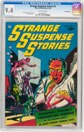Golden Age (1938-1955):Horror, Strange Suspense Stories #2 Crowley Copy pedigree (FawcettPublications, 1952) CGC NM 9.4 Off-white pages....