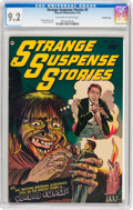 Golden Age (1938-1955):Horror, Strange Suspense Stories #5 Crowley Copy pedigree (FawcettPublications, 1953) CGC NM- 9.2 Off-white to white pages....