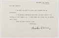 Autographs:Authors, Charles Divine (1889-1950, American Playwright). Typed Letter Signed. Very good....