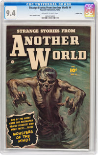 Strange Stories from Another World #4 Crowley Copy pedigree (Fawcett Publications, 1952) CGC NM 9.4 Off-white to white p...
