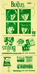 Music Memorabilia:Recordings, Beatles Rare Holiday Inn Promotion (1964). ...