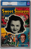 Golden Age (1938-1955):Romance, Sweet Sixteen #1 Mile High pedigree (Parents' Magazine Institute,1946) CGC NM 9.4 White pages....