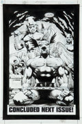 Original Comic Art:Splash Pages, Rags Morales and Michael Bair Hawkman #3 Splash Page 22Original Art (DC, 2002)....