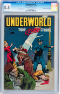 Golden Age (1938-1955):Crime, Underworld (True Crime Stories) #1 Mile High pedigree (D.S. Publishing, 1948) CGC VF+ 8.5 Off-white to white pages....