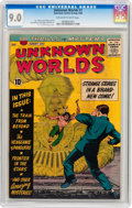 Silver Age (1956-1969):Science Fiction, Unknown Worlds #1 (ACG, 1960) CGC VF/NM 9.0 Off-white to whitepages....