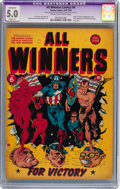 Golden Age (1938-1955):Superhero, All Winners Comics #6 (Timely, 1942) CGC Apparent VG/FN 5.0 Slight (A) Cream to off-white pages....