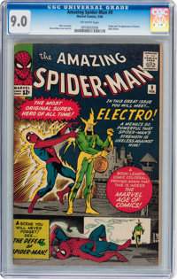 The Amazing Spider-Man #9 (Marvel, 1964) CGC VF/NM 9.0 Off-white pages