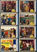 "Movie Posters:Western, Oh, Susanna! (Republic, 1936). Lobby Card Set of 8 (11"" X 14"").. ... (Total: 8 Items)"