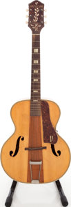 Musical Instruments:Acoustic Guitars, Circa 1950's Harmony Patrician Natural Archtop Acoustic Guitar....