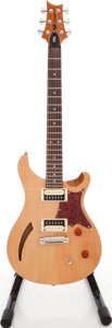 Musical Instruments:Electric Guitars, 2010 Paul Reed Smith (PRS) SE Natural Solid Body Electric Guitar,#I02441....