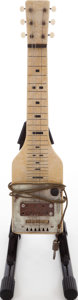 Musical Instruments:Lap Steel Guitars, 1948 Supro MOTS Yellow Lap Steel Guitar....