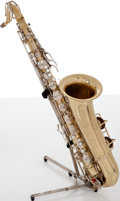 Musical Instruments:Horns & Wind Instruments, 1960 Conn Naked Lady Brass Tenor Saxophone, #811702....