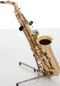 Musical Instruments:Horns & Wind Instruments, 2009 Hawk Recent Brass Alto Saxophone, #FSB12116....