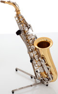 Musical Instruments:Horns & Wind Instruments, Recent King 660 Brass Alto Saxophone, #743086....