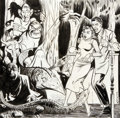Original Comic Art:Covers, Myron Fass Tales of Horror #3 Cover Original Art(Toby/Minoan, 1952)....