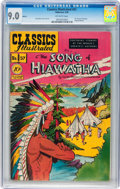 Golden Age (1938-1955):Classics Illustrated, Classics Illustrated #57 The Song of Hiawatha - Original Edition(Gilberton, 1949) CGC VF/NM 9.0 Off-white to pages....