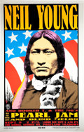 Music Memorabilia:Posters, Neil Young/Pearl Jam Frank Kozik Limited Edition Poster #228/500(1993)....