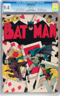 Batman #11 (DC, 1942) CGC NM 9.4 White pages