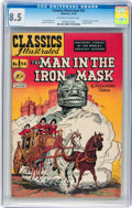 Golden Age (1938-1955):Classics Illustrated, Classics Illustrated #54 The Man in the Iron Mask - Original Edition (Gilberton, 1948) CGC VF+ 8.5 Off-white to white pages....