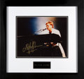 Music Memorabilia:Autographs and Signed Items, Sir Elton John Signed and Framed Color Performance Photo. ...