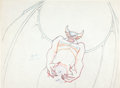 Animation Art:Production Drawing, Fantasia Chernabog Production Drawing Animation Art (Disney,1940)....