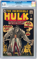 Silver Age (1956-1969):Superhero, The Incredible Hulk #1 (Marvel, 1962) CGC FN 6.0 Cream to off-whitepages....