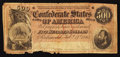 Confederate Notes:1864 Issues, T64 $500 1864 PF-1 Cr. 289A.. ...