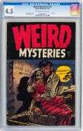 Golden Age (1938-1955):Horror, Weird Mysteries #12 (Gillmor, 1954) CGC VG+ 4.5 Off-white to whitepages....