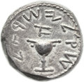 Ancients, Ancients: Jewish War (66 - 70 AD). AR shekel (22.6 mm, 13.71 gm, 11h)....