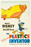 "Movie Posters:Animation, The Plastics Inventor (RKO, 1944). One Sheet (27"" X 41"").. ..."