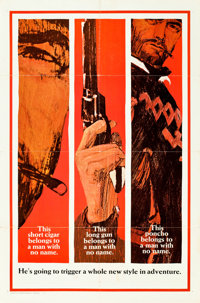 "A Fistful of Dollars (United Artists, 1966). One Sheet (27"" X 41"") Teaser Style B"