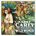 "Movie Posters:Western, Wild Women (Universal, 1918). Six Sheet (81"" X 81"").. ..."