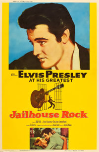 "Jailhouse Rock (MGM, 1957). MP Graded Poster (40"" X 60"") Style Y"