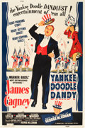 "Movie Posters:Musical, Yankee Doodle Dandy (Warner Brothers, 1942). MP Graded Poster (40""X 60"") Style B.. ..."