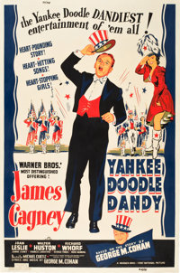 """Yankee Doodle Dandy (Warner Brothers, 1942). MP Graded Poster (40"""" X 60"""") Style B"""