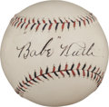 "Autographs:Baseballs, Circa 1925 ""Babe"" Ruth Single Signed Baseball, PSA/DNA NM-MT+8.5...."