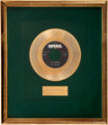 "Music Memorabilia:Awards, Fats Domino ""I'm Walkin"" Imperial Gold Record Award (1958). In lessthan two years, Fats recorded five of his biggest, and a..."
