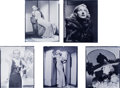 "Movie Posters:Miscellaneous, Carole Lombard (Paramount, 1930's). Nitrate Negatives (5) (8"" X10"").. ... (Total: 5 Items)"