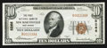National Bank Notes:West Virginia, New Martinsville, WV - $10 1929 Ty. 1 The First NB Ch. # 5266. ...