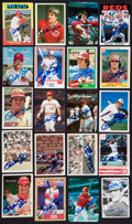 Autographs:Sports Cards, 1960's-1990's Pete Rose Autographed Card Collection (20 Different)....
