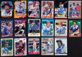 Autographs:Sports Cards, 1980's Fleer and Donruss Mike Schmidt Autographed Cards (17Different). ...